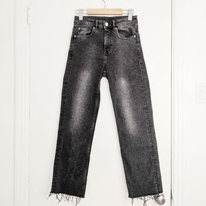 H&M straight leg grey jeans